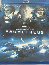 Prometheus (Blu-ray, 2012)Sealed,WS,Sci-Fi,Mystery,Space,Aliens,Noomi Rapace