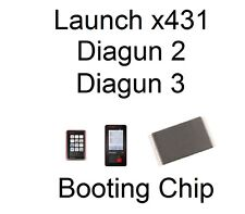Launch x431 Diagun 2 3 Booting Chip Problem Won't Boot Up Or Turn On? Look here