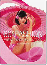 60s Fashion: Vintage Fashion and Beauty Ads (Icons Series), Very Good Condition