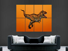TYRANNOSAURUS REX T REX DINOSAUR GIANT WALL POSTER ART PICTURE PRINT LARGE HUGE