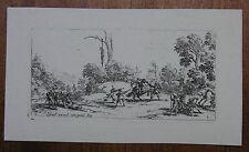 J. CALLOT ´PETITES MISÈRES DE LA GUERRE, RAUBÜBERFALL, THEFT´ L. 1334, ~1635