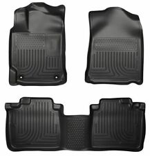 13-17 Honda Accord Husky WeatherBeater Floor Mats All Weather Liners Black