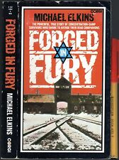 FORCED in FURY 287pg TRUE NAZI GERMANY WW2 Jewish Holocaust Gas Survivors LEARN!