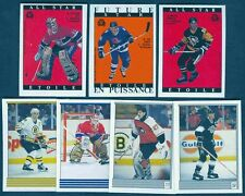 1989-90 O-Pee-Chee Hockey Sticker Set - Gretzky, Roy Etc.