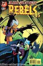 R.E.B.E.L.S. #9 Comic Book - DC 1995 REBELS