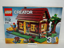 Lego Creator 5766 Log Cabin NEW Retired 3 in 1 Set