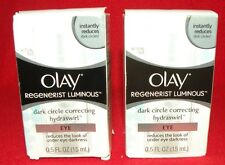 New Lot Of 2 Olay Regenerist Luminous Dark Circle Eye Cream (698)