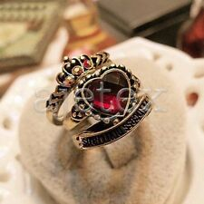 1PC Fashion Rings Set Alloy Vintage Heart Shape Style women Ring Jewelry