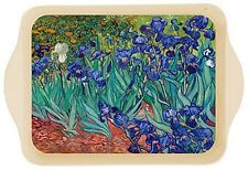 "Tray - ""Les Iris"" 1889 - Van Gogh, 8 1/4"" x 5 1/2"", Tin, French, Fun, Functional"