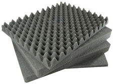 SOLID - 4 piece Pelican 1550 Replacement foam set. (Solid Middle foam)