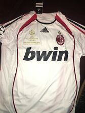 Maldini AC MILAN 2007 SHIRT CHAMPIONS LEAGUE WINNERS JERSEY ITALY Medium
