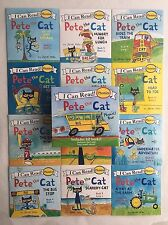Pete the Cat Childrens Books I Can Read Phonics Readers Learn to Read Lot 12 NEW