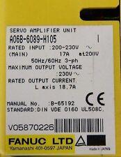 FANUC A06B-6089-H105 SERVO AMPLIFIER w/ 90 DAY WARRANTY