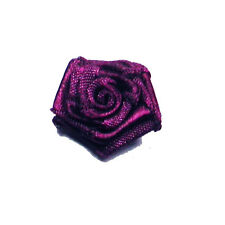 "Polyester Satin Ribbon Roses 3/4"" 24 Pieces Per Pack *Colors*"