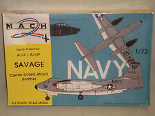 Mach 2 1/72 Scale North American AJ-2 / AJ-2P Savage - Factory Sealed