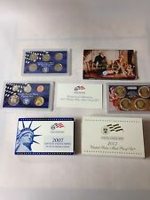 2007 US MINT CLAD PROOF SET W/ STATE QUARTERS PRESIDENTIAL DOLLARS 14 COINS COA
