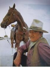 John Wayne with horse