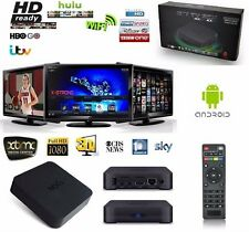 SMART TV BOX Wifi INTERNET Multimedia Player Media Quad Core HDMI 1080P Android