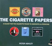BOEK/LIVRE/BOOK : THE CIGARETTE PAPERS  (sigaretten pakje,paquet de cigarette