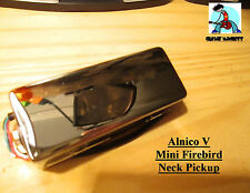 G.M. Mini Firebird Neck Pickup Alnico 5 Magnets Chrome