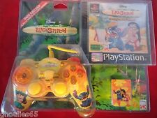 LILO & STITCH OURAGAN SUR HAWAI PLAYSTATION 1 PS1 MANETTE PS1 CARTE MEMOIRE PS1