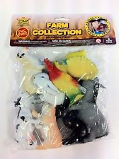 Wild Republic Polybag Farm Animal Soft & Squeezable Play Set toy Figurines