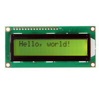 New Yellow backlight LCD 1602 16x2 Characters HD44780 display for Arduino