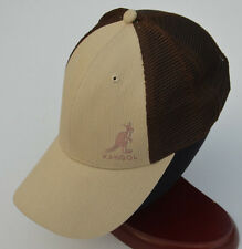 KANGOL MESH BASEBALL CAP BROWN M00289 SPORTS ADJUSTABLE SNAPBACK HAT NEW NWT