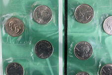 2001 P and D State Quarter 10 Coins from US Mint Set BU Statehood Cello 25c Coin