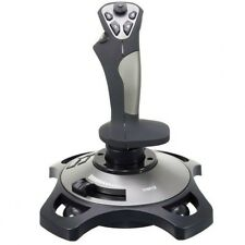 Logic3 JS282 PC USB Pro Flight 2 Analogue Rudder &Throttle controls Joystick New