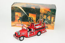 MATCHBOX YESTERYEAR YFE09 1932 FORD AA OPEN CAB FIRE ENGINE, NEW IN BOX