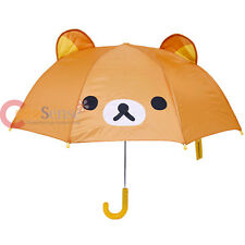 San X Rilakkuma Umbrella with Ear Face with 3D Ear Japan San X