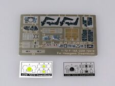 Dream Model 1/72 #72018 Cockpit Color Etching Parts for F-14A Tomcat (Hasegawa)