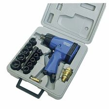 "Draper tools/atelier 15 piece 1/2"" square drive air impact wrench kit - 52600"