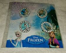 Disney Pins FROZEN Booster Set 4 Princess Anna Elsa Olaf Arendelle Castle
