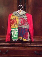 John Galliano Boys Long Sleeve Shirt With Hood