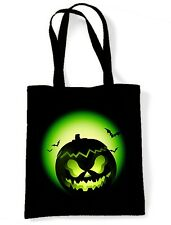 HALLOWEEN PUMPKIN SHOULDER  TOTE BAG - Trick Or Treat Childrens Kids Costume