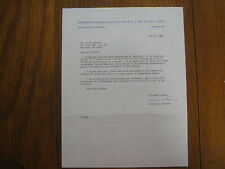CHARLES D. PARSONS (Columbia  University) Signed  8 X 11  1986  Personal  Letter