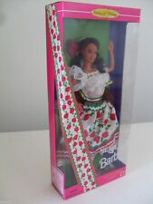 barbie mexican dolls of the world messico messicana collection 1995 dotw 14449