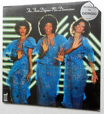 The THREE DEGREES New Dimensions US LP Sealed Giorgio MORODER 70's DISCO r&b