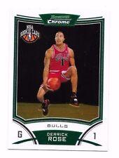 2008-09 Bowman Chrome Derrick Rose