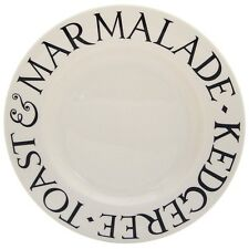 EMMA BRIDGEWATER POTTERY NEW 8 1/2 INCH PLATE BLACK TOAST