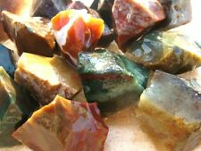 Natural FANCY JASPER Rough Rocks - 1/2 Pound Lots - Nice Color, Great Size, Gems