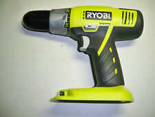 "NEW Ryobi 18V Drill Driver 1/2"" NiCad or Lithium (Bare Tool) w/Bit,& Manual P271"