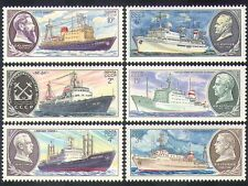 Russia 1980 Scientific Research Ships/Boats/Nautical/Transport 6v set (b4659)