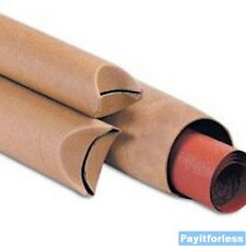 2x43 Crimped End Shipping Mailing Postal Tube 50pc