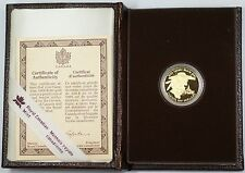 1989 Canada Sainte-Marie $100 Dollar 1/4 Oz Gold Proof Coin as Issued WW