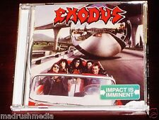 Exodus: Impact Is Imminent CD 1990 Capitol Records UK CDP 7 90379 2 / CDEST 2125