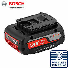Bosch GBA 18V 2.0Ah MW-B Wireless Charging Li-Ion Battery WCBAT612-No Retail Box