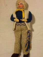 Vintage Connemara Traditional Handmade Irish Doll by Jay of Dublin
